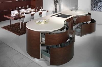 Favorite Modern Kitchen Wooden Furniture-1