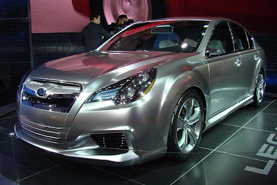Subaru Legacy concept at the Chicago Auto Show