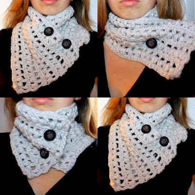 Bobble Cowl Free Crochet Pattern from the Scarves Free ...