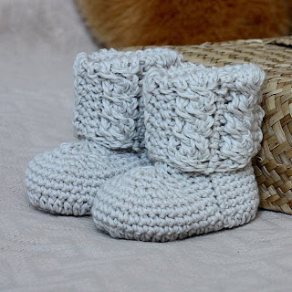 Free Crochet Pattern Baby Snow Boots : FREE CROCHET BOOT PATTERN - Crochet and Knitting Patterns