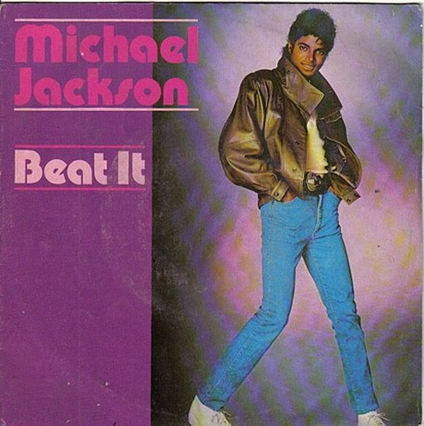 "Há exatos 29 anos o single de ""Beat It"" era lançado Beat-it"