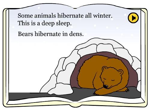 Hibernate for preschool animals hibernate for preschool winter