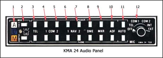 kma 20 audio panel wiring diagram
