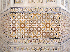 Mughal motifs, Agra