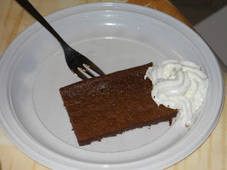 torta al cioccolato del bar