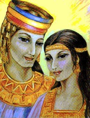 Dios y Diosa Merú.