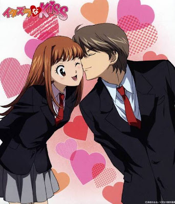 anime couples kiss. couple kissing drawing. Anime