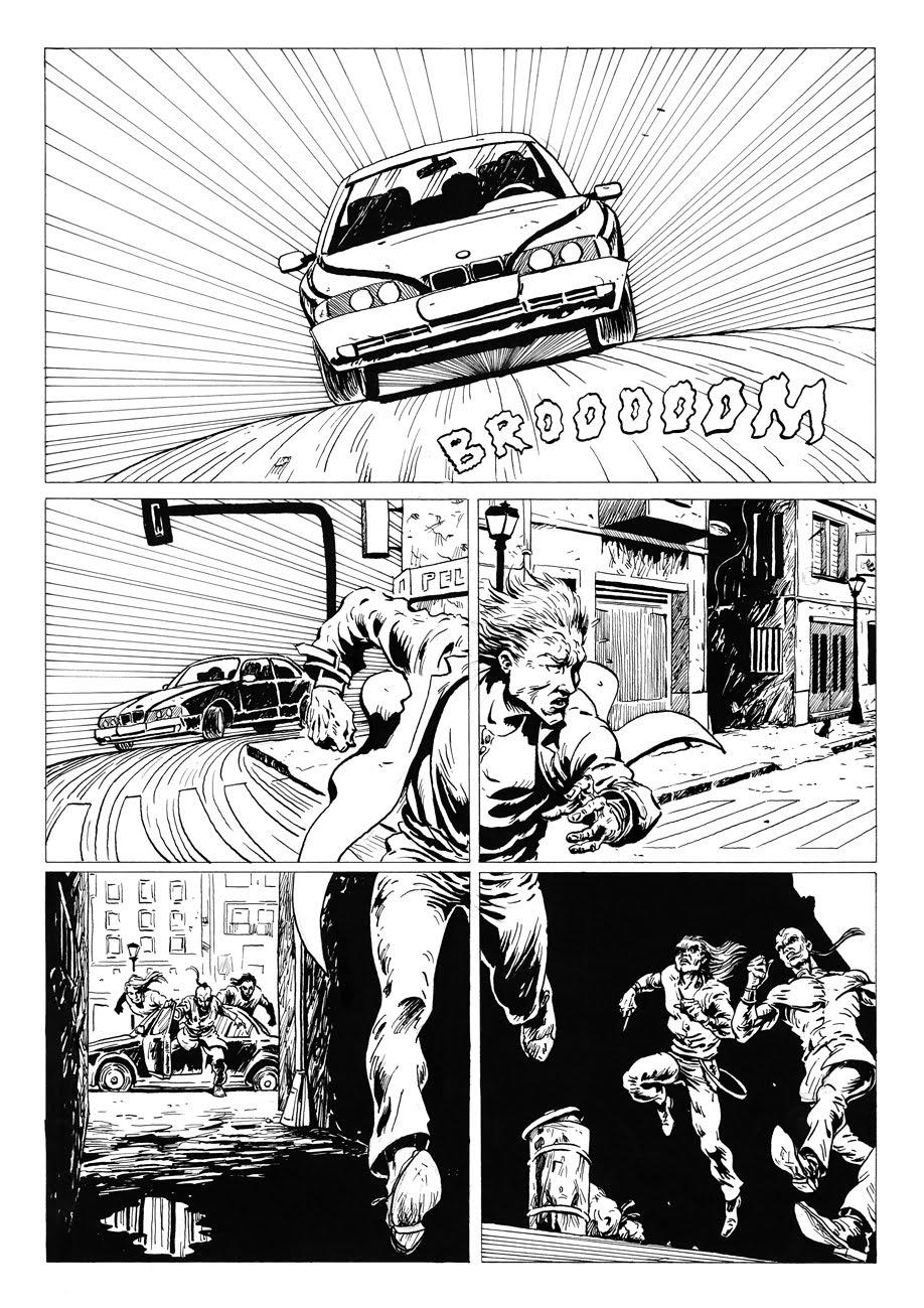 Sal Donaire: Trabajo sobre conceptos espaciales en comic para dibujo ...