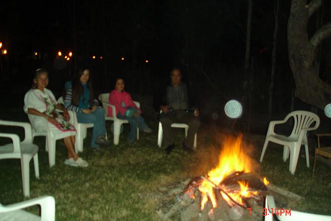 Canepla Ovni sobre fogata Shambala Santa Rita