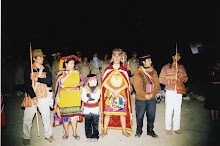 Ceremonia Ritual Pacha Mama en Caral Supe Peru 2008
