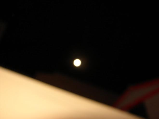 La Luna Hexagono Panal de ABEJAS 31/12/2009 Huacho Peru