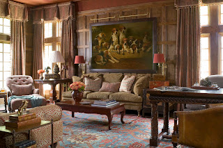 Period homes the interior of the southern accents for Saloni eleganti