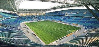 Zentralstadion, em Leipzig, Alemanha
