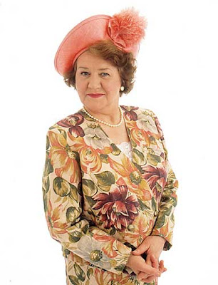 Hyacinth Bucket of the BBC comedy, 'Keeping Up Appearances'