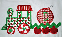 Peppermint Train with Ornament