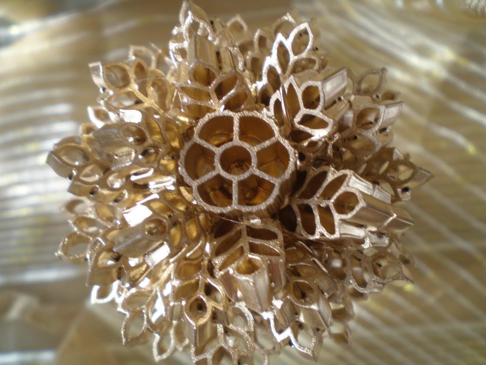 Новогодние шары из макарон