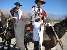 Gauchos cerca de Cafayate