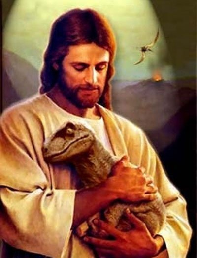 [Jesus+Dinosaur]
