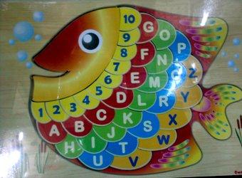 Puzzle Ikan
