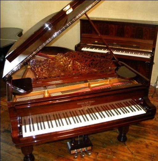 Vintage Steinway Pianos 111