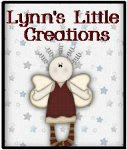 "Add a Lynn's Little Creations Button to your Blog Simply copy the code below and post my ""button"""