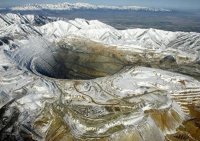 Карьер Kennecott Bingham Canyon Mine