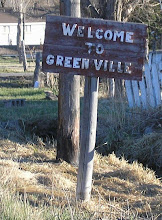 Welcome to Greenville sign