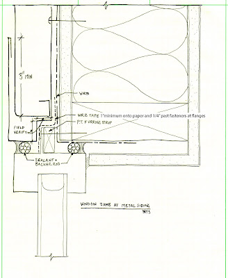 Building envelope blog window head jamb and sill details for Window jamb design