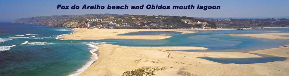 Foz do Arelho Beach and Obidos Mouth Lagoon