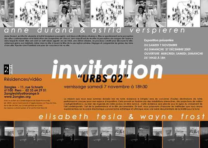 Jeu de Ville EXPOSITION FLERS du 6 décembre au 6 janvier 2009