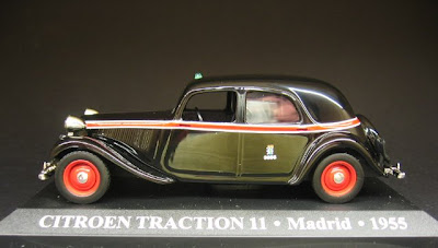 Citroën Traction 11 - Madrid - 1955 - Taxi