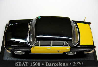 Seat 1500 - Taxi Barcelona