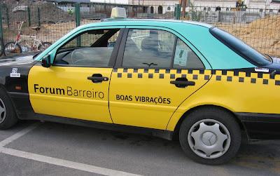 Publicidade em Táxis