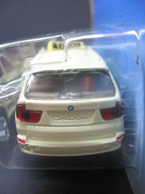 BMW X5 4.8i TAXI: Vista traseira