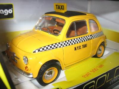 Fiat 500 Taxi: frente