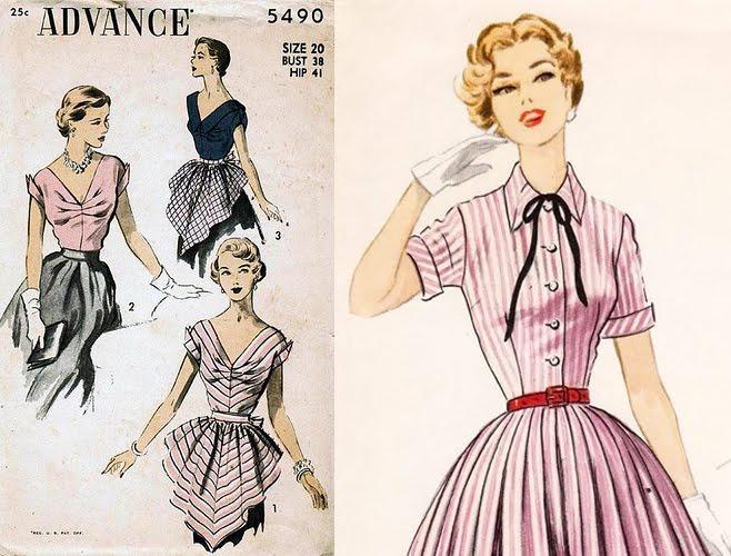 Teagan Tall: Vintage Sewing Pattern Goodness