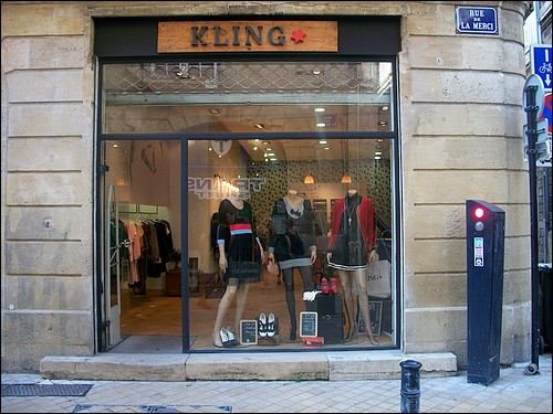 Visite et d couverte d 39 une boutique kling bordeaux for La boutique bordeaux