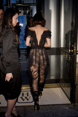 Leighton Meester see through dress tits and ass visible pokies arse Jewels Recreation