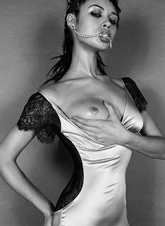 Olga Kurylenko nude topless love in Vincent Peters shoot