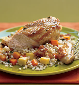 Mixers Nutrition: Autumn Herbed Chicken with Fennel and Squash
