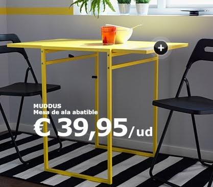 Decoracion mueble sofa mesa de cocina ikea - Mesa cocina ikea plegable ...