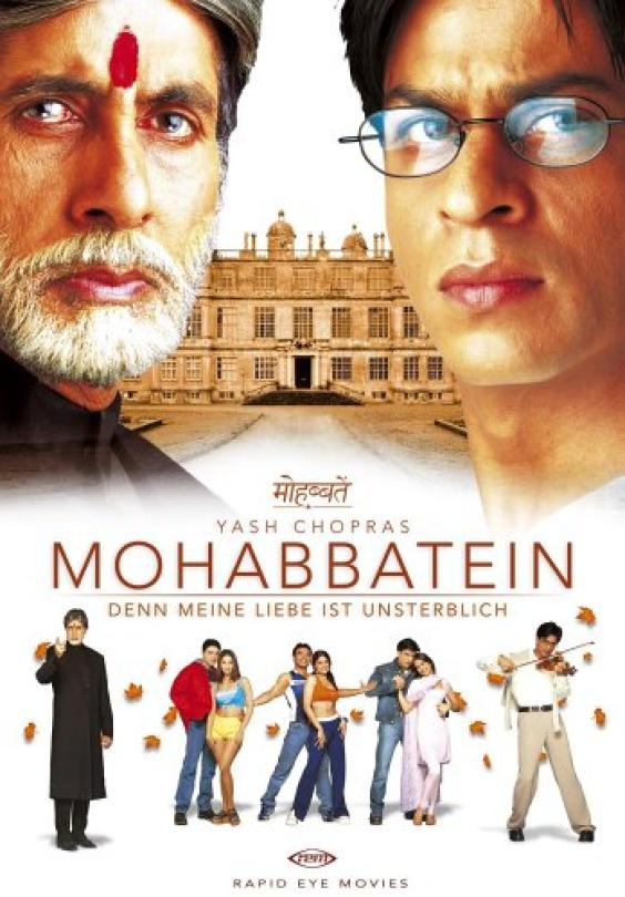 Clases de Bollywood  Danza Bollywood: Mohabbatein