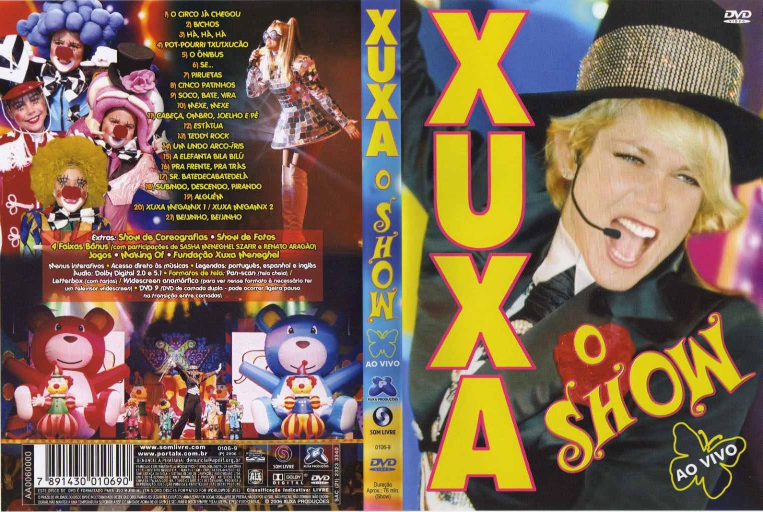 Capas de Filmes Musical: Xuxa - O Show