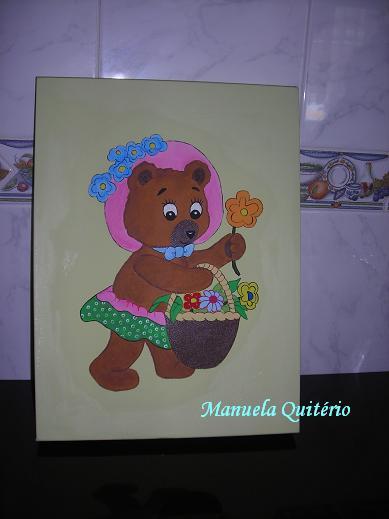 Quadro ursa Teresa