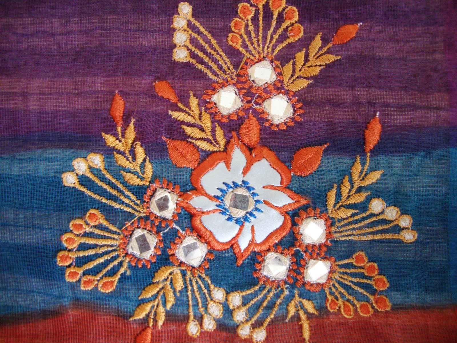 How to do kutch embroidery free patterns