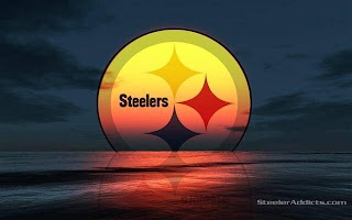 A Pittsburgh Steelers Sunset in Erie PA