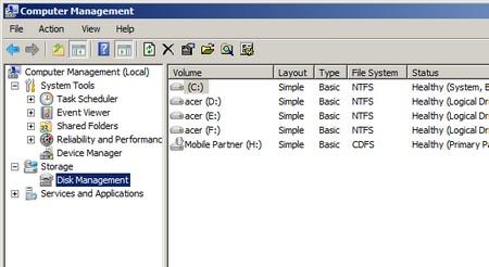 Cara mengubah huruf drive pada windows xp