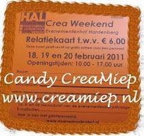 candy gewonnen bij creamiep