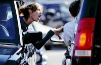 asociaal in het verkeer