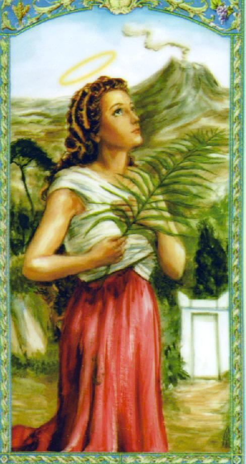 saint agatha single jewish girls Seven patron saints for healing and comfort whatever your need in life is, there is a patron saint who is standing by to help you click through our gallery and discover the stories of the saints click through our gallery and discover the stories of the saints.